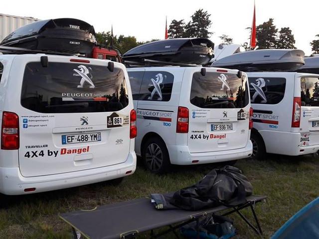 Traveller 4X4 Dakar rallil